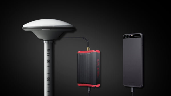 Tersus David RTK is the innovative RTK solution for centimeter-level accuracy using smartphone.