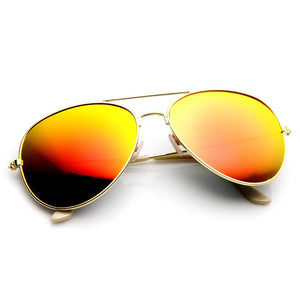 Large Full Metal Frame Aviator Flash Mirror Revo Lenses 1491