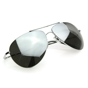 Curved Metal Aviator