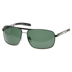 Large Metal Square Polarized Aviator Sunglasses 8268