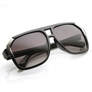 Large European Retro Square Aviator Sunglasses 8629