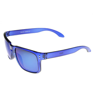 Action Sports Candy Color Flash Revo Lens Square Aviator Sunglasses 8684