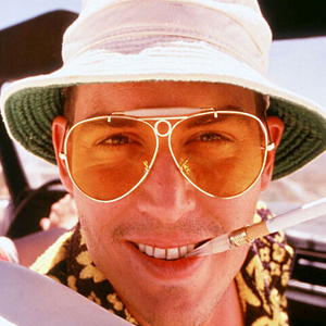 Celebrity Movie Fear And Loathing Las Vegas Johnny Depp Aviator Sunglasses 8833