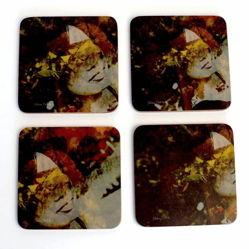 Coasters - naturale lady