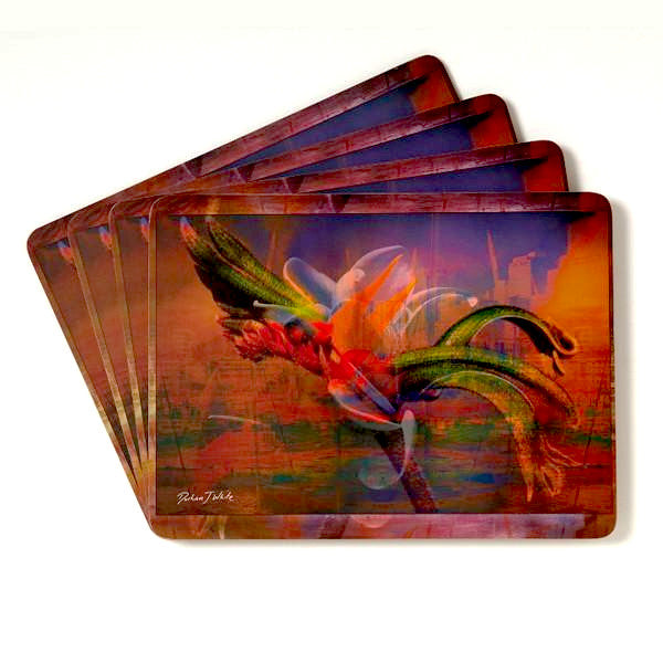 Sydney Flora Placemat & Coaster Set