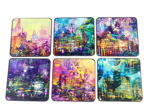 Melbourne Alive 2019 6pc Coasters