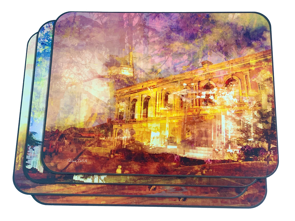 Historic Piper Street Kyneton 2019 Placemats 4pc