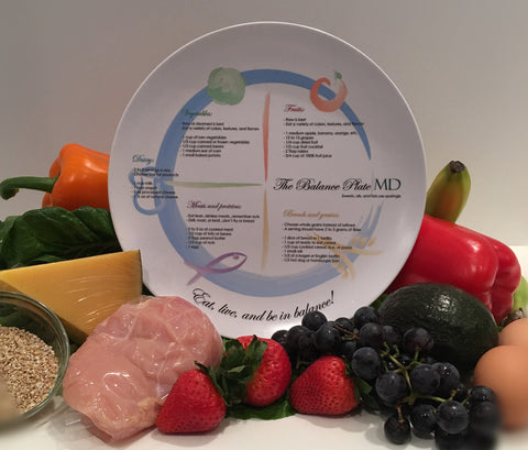 The Balance Plate MD - For Portion Control