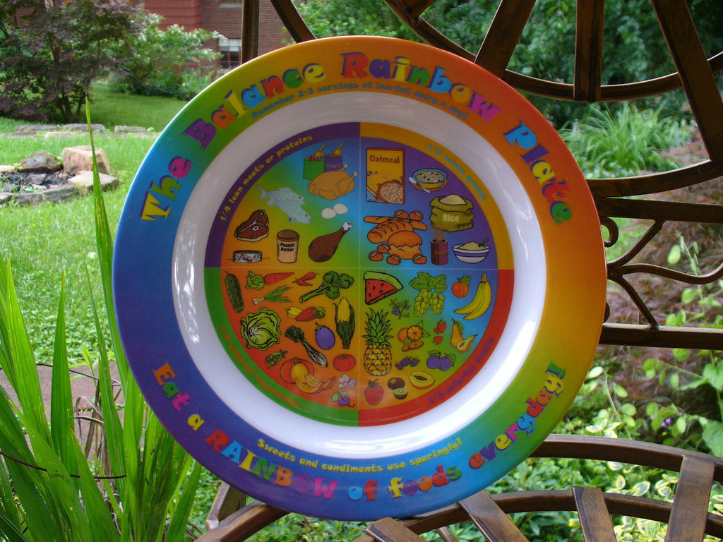 The Rainbow Kids Plate
