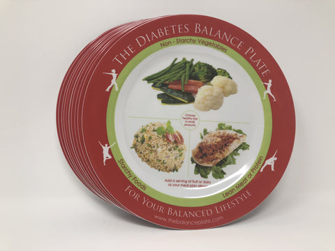 The Diabetes Balance Plate - 10 Pak