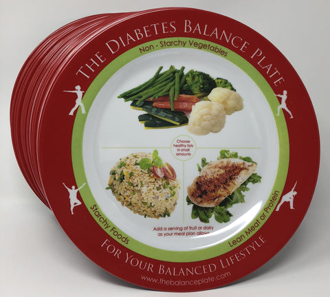 The Diabetes Balance Plate - 50 Pak
