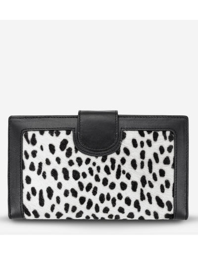 Status Anxiety - Doris Wallet Snow Cheetah