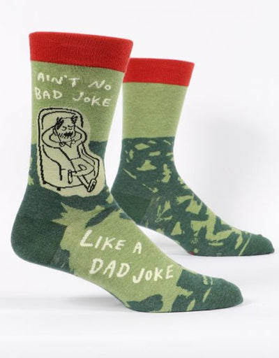 Blue Q - Ain't No Bad Joke Like A Dad Joke Men's Socks, socks, Blue Q - Say It Sister