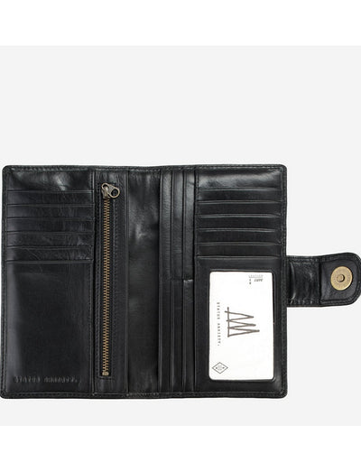 Status Anxiety - Doris Wallet Black, wallet, Status Anxiety - Say It Sister