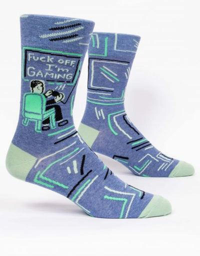 Blue Q - Fuck Off I'm Gaming Men's Socks, socks, Blue Q - Say It Sister