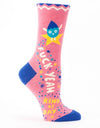 Blue Q - Fuck Yeah Kind Of Day Women's Socks, socks, Blue Q - Say It Sister