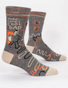 Blue Q - Here Comes Cool Dad Men's Socks - Say It Sister