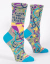 Blue Q - I Love My Asshole Kids Women's Socks, socks, Blue Q - Say It Sister