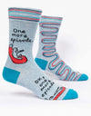 Blue Q - One More Episode Men's Socks