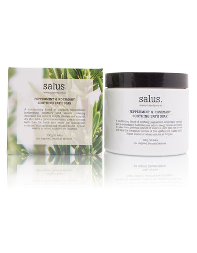 Salus - Peppermint & Rosemary Soothing Bath Soak, Bath and Body, SALUS - Say It Sister