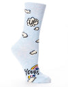 Blue Q - Up Yours Women's Socks, socks, Blue Q - Say It Sister