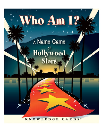 Who Am I? A Name Game of Hollywood Stars Knowledge Cards, Book, Brumby Sunstate - Say It Sister