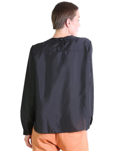 Olga de Polga - Da Vinci Blouse Black, Top, Olga de Polga - Say It Sister