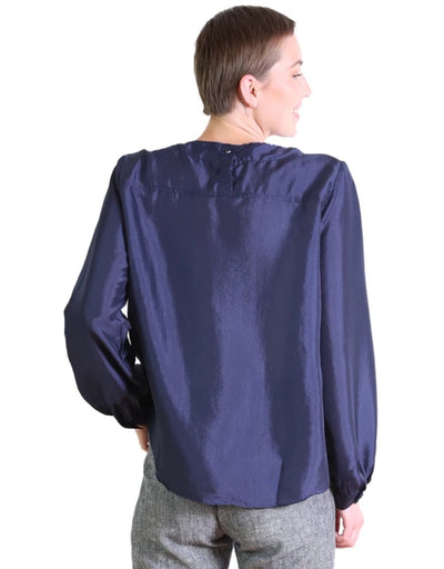 Olga de Polga - Da Vinci Blouse Navy, Top, Olga de Polga - Say It Sister