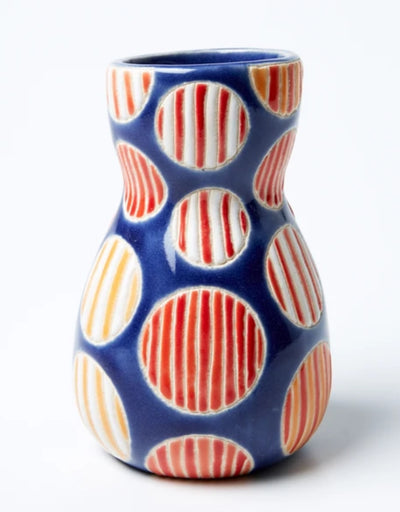 Saturday Vase Orange Spot, vase, Jones & Co - Say It Sister