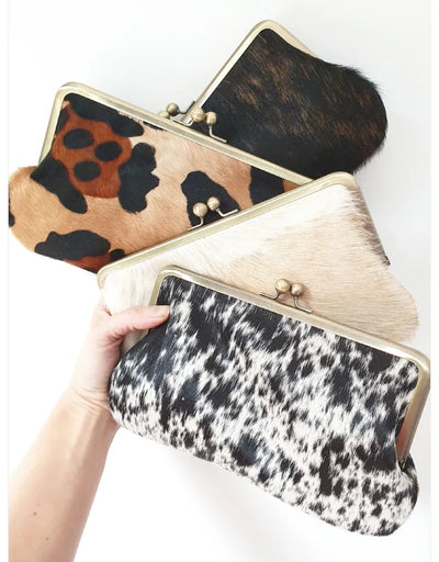Moy - Cowhide Clutch - Say It Sister