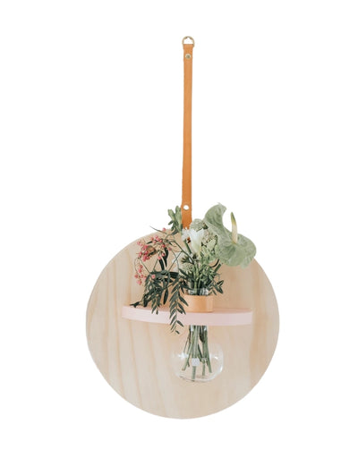 Stix & Flora - Hoopla Vase Pink Large, vase, Stix & Flora - Say It Sister