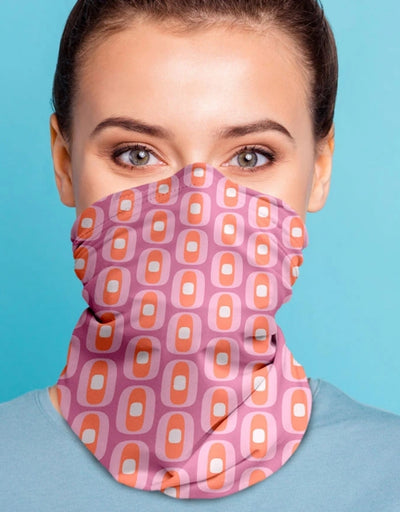 Face Scarf - Focus Chroma Strawberry/Orange - Say It Sister