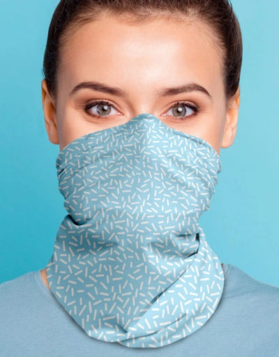 Face Scarf - Serkis Fine Skyblue - Say It Sister