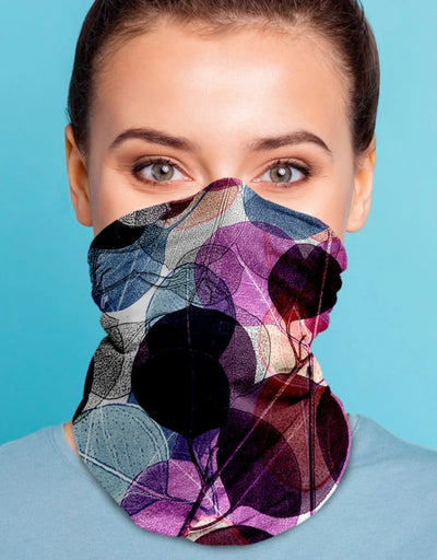Face Scarf - Killara Purple - Say It Sister