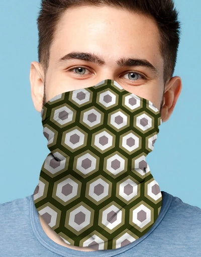 Face Scarf - Beehive Chroma Chive - Say It Sister