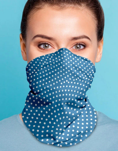 Face Scarf - Jabiru Faded Denim - Say It Sister
