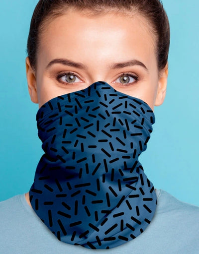 Face Scarf - Serkis Bold Denim/Black - Say It Sister