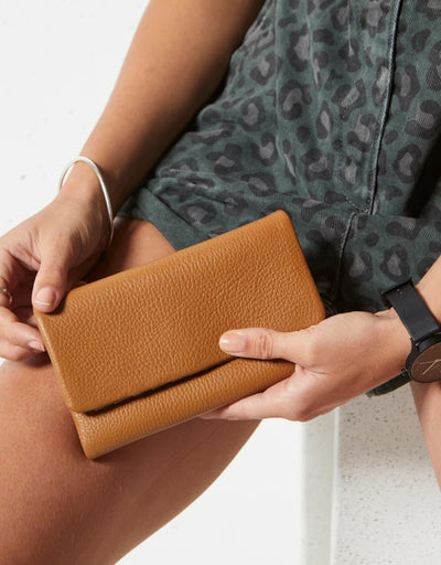 Status Anxiety - Audrey Wallet Pebble Tan - Say It Sister