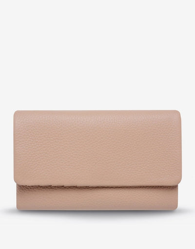 Status Anxiety - Audrey Wallet Pebble Dusty Pink - Say It Sister