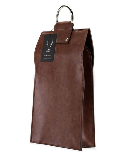 Admiral Faux Leather Double Wine Tote, Mens Gift, Viski - Say It Sister