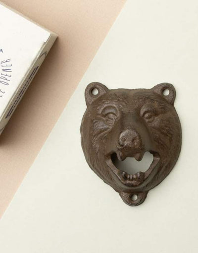 Bear Head Bottle Opener, Mens Gift, Men's Society - Say It Sister