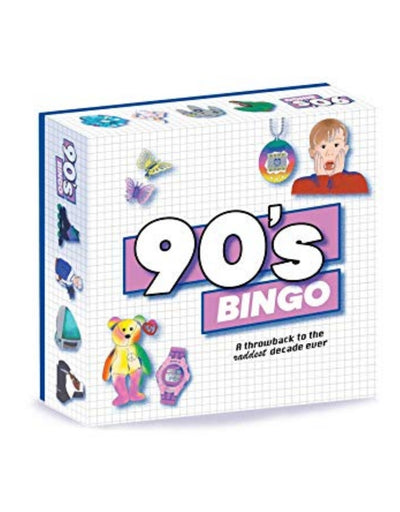90s Bingo, Game, Brumby Sunstate - Say It Sister