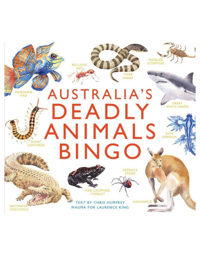 Australia's Deadly Animals Bingo, Game, Brumby Sunstate - Say It Sister