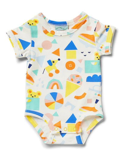 Halcyon Nights - Toy Box Short Sleeve Bodysuit, baby, Halcyon Nights - Say It Sister