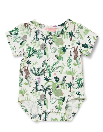 Halcyon Nights- Fern Gully Short Sleeve Bodysuit, baby, Halcyon Nights - Say It Sister
