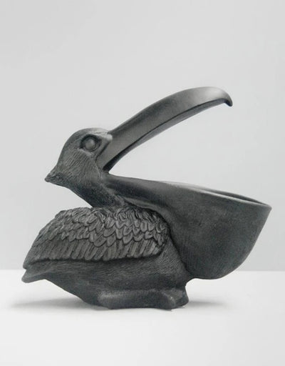 Pelican Bowl - Black, Homewares, White Moose - Say It Sister