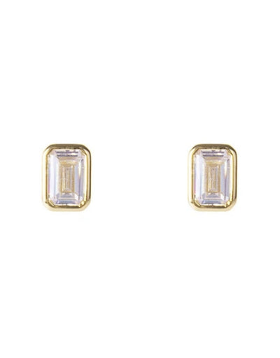 Fairley - Crystal Deco Studs - Say It Sister