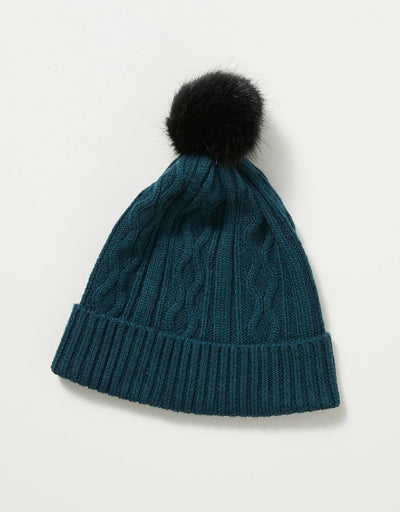Toorallie - Cable Beanie Deep Sea - Say It Sister