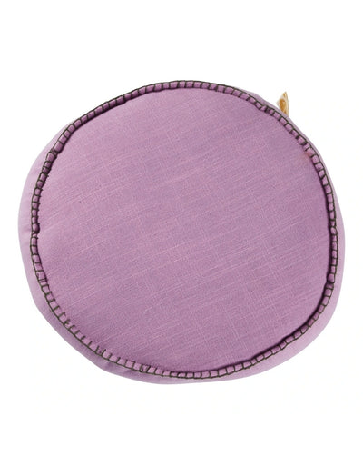 Sage x Clare - Rylie Round Cushion Violet - Say It Sister