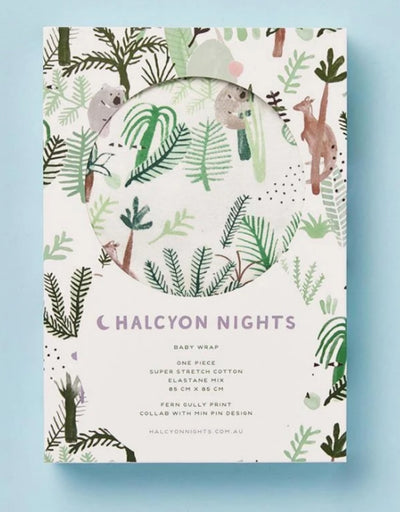 Halcyon Nights - Baby Wrap Fern Gully, baby, Halcyon Nights - Say It Sister